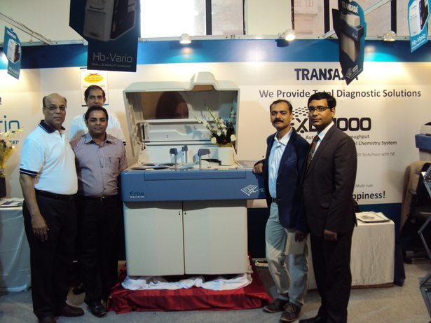ACBICON, APCON 2013, Clinical chemistry analyzer, Critical care analyzer, Easylyte Xpand, EM 180 Destiny, Fully Automated High Performance Liquid Chromatography Analyzer, LAURA M, New Delhi., Shyam Tyagi, Sunil Duggal, Transasia Bio- Medicals Ltd, Urine analyzer, Wellness Pathcare, XL 1000