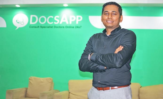 DocsApp, InnoVen Capital, Satish Kannan, Online doctor consultation, Primary healthcare