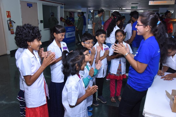 BGS Gleneagles Global, Shailaja Suresh, Community outreach, 'Namma Little Doctors