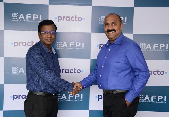 Academy of Family Physicians of India, Practo, Digital healthcare platform, Dr Raman Kumar, CMEs
