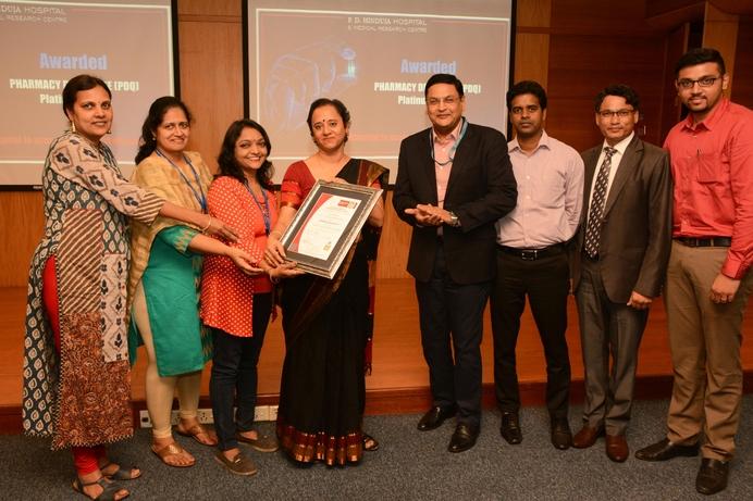 Pharmacy De Qualite, PD Hinduja Hospital, Joy Chakraborty, Bureau Veritas, Pharmacy management