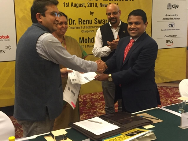 Trivitron Healthcare, Centre for Cellular And Molecular Platforms, C-CAMP, Department of Biotechnology, Medical technology