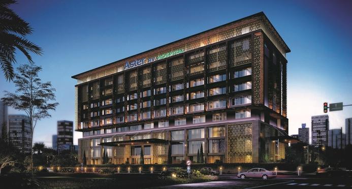 Aster RV Hospital, Aster DM Healthcare, Dr Harish Pillai, RJB Architects, Archventure