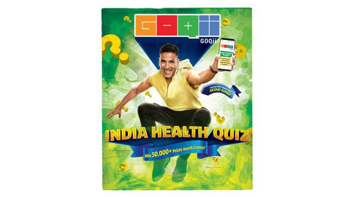 GOQii, GOQii India Health Quiz 2019, Vishal Gondal, Akshay Kumar, The India Health Quiz, Android, IOS, Health advice, Times Network, OnePlus 7, IPhone XR, LIVE GOQii Play, Health & Fitness