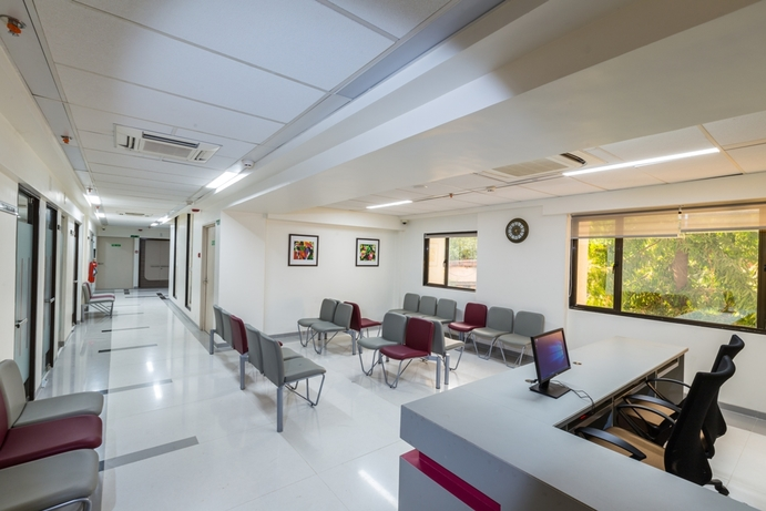 Healthcare design, Shree Designs, Kshititi Nagarkar, OPD, Lobby