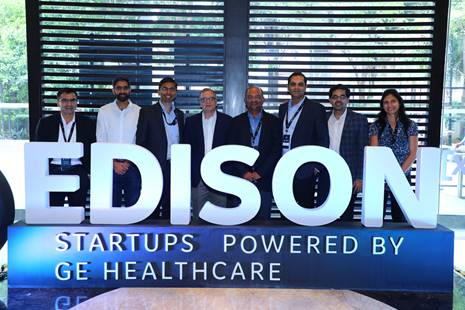 Edison, GE Healthcare, Health start-ups, AI, Zinnov