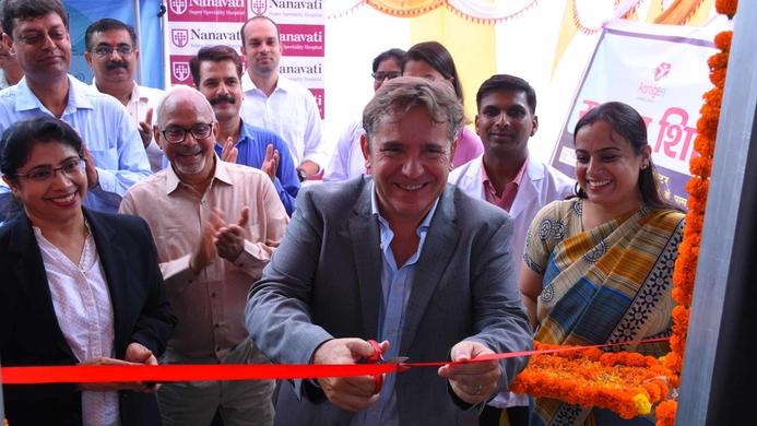 Legrand, Legrand India, Telemedicine Health Center, Nanavati Hospital, Telemedicine center, Telemedicine Health Centre, Aarogee, BPL community, Tony Berland, Jalgaon, Haridwar