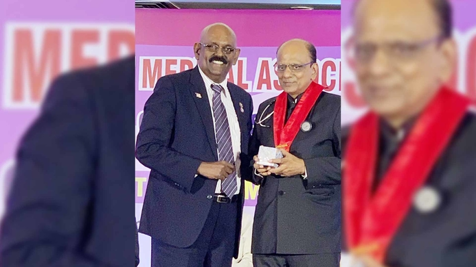 Dr K K Aggarwal, Confederation of Medical Associations, Asia and Oceania, Healthcare, Asia, Heart Care Foundation of India, Padma Shri, President, World Medical Association, Goa, Ravindran Naidu, Tobacco, Public health, HIV/AIDS