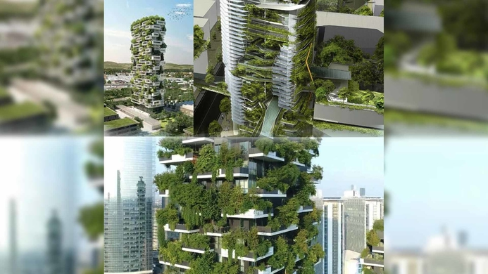 Sustainable building, Healthcare, Green building, Glass tower, Environment, Environmental sustainability, Vegetation grow, Building size, Carbon footprint, Lower carbon footprint, Solar radiation, Glazing percentage, Fenestration, Reduce solar gain
