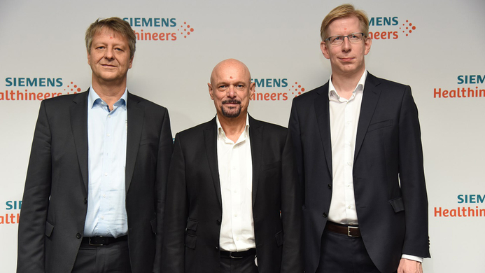 Siemens Healthineers, Manufacturing facility, R&D centre, Bengaluru, Diagnostic Imaging, Advanced Therapies, Technological, Healthcare industry, Gerd Hoefner, Digital hub, André Hartung, Healthcare, Siemens
