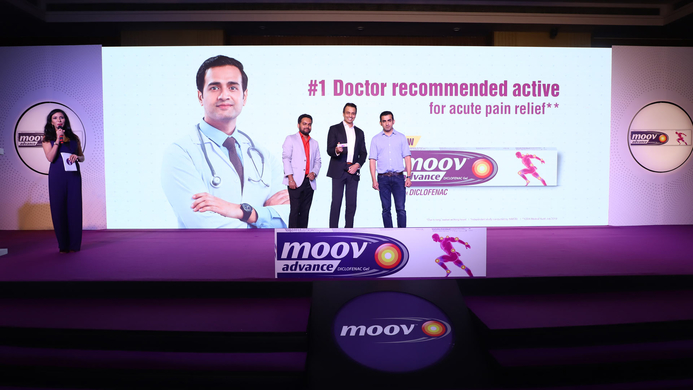Moov, Fit India Movement, Narendra Modi, #MakeYourMoov, Gautam Gambhir, Pankaj Duhan, RB Health South Asia, Aavance Gel, Diclofenac