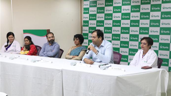 Fortis Hospital, Mulund, Andhra Pradesh, Bangalore, Pediatric ICU, Jesal Sheth, Liver transplant, Sangeeta Shetty, Anesthetist, Vaishali, Swapnil Sharma, S Narayani, Sharma, Biliary Atresia