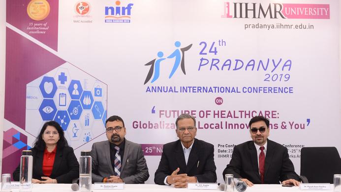 Pradanya, SD Gupta, IIHMR University, Pankaj Gupta, Non-communicable diseases, Healthcare challenges, Mobile technology, E-health