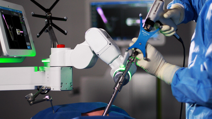 Medtronic, Mazor X Stealth Edition, Robotic-assisted spine surgery, India Medtronic Private Limited, Global surgical robotics market, H.S. Chhabra, Indian Spinal Injuries Centre, Surgical Robotics Market