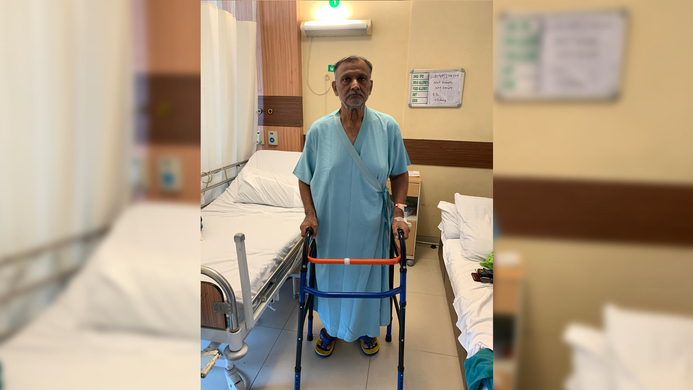 Hereditary multiple exostosis, TKR, Fortis Hospital, Shalimar Bagh, Amite Pankaj Agarwal, Orthopedics, Shalimar Bagh, Amite Pankaj, Mahipal Singh Bhanot