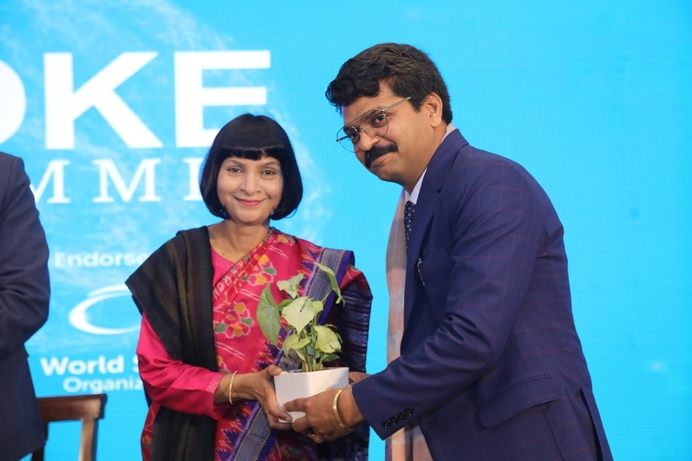 Stroke Summit call, Disease burden of stroke, MV Padma Srivastava, Neurosciences Centre, All India Institute of Medical Sciences, AIIMS, Jeyaraj Pandian, Hon'ble Union Minister of State for Social Justice and Empowerment, Shri Ramdas Athawale, Global Burden of Disease, World Stroke Organization