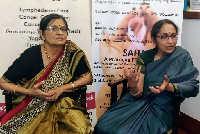 Cancer patients, PP Bapsy, Sandhya Ravi, SAHAI FENS, Quality of Life Parameters, Asia Congress, Cancer patients, Multi-dimensional supportive care, Supportive care, Non-hospital environment, Prameya Health, Multi-dimensional supportive care programs