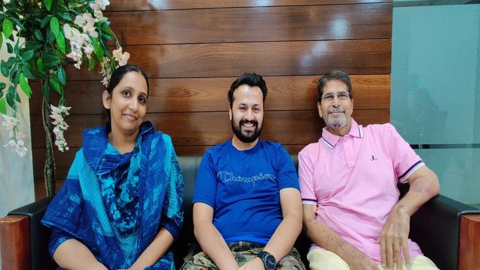 Same blood group, Liver transplant, Ravi Mohanka, Anurag Shrimal, Abhay Patne, Mast Hammad Sheikh, Global Hospital