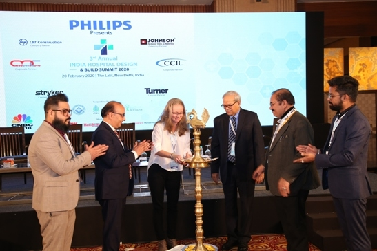 India Hospital Design and Build Summit 2020, Philips India, Hospital Design, New Delhi, Design Offices