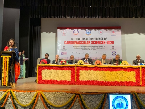 Delhi Pharmaceutical Sciences and Research University, Delhi, International Conference of Cardiovascular Sciences- 2020, Dr. Randeep Guleria