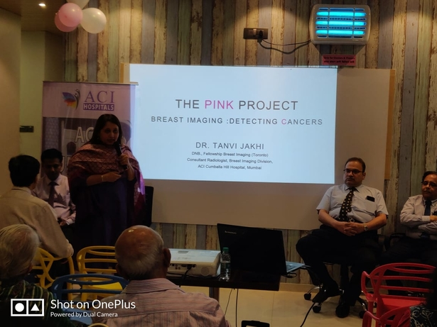 ACI Cumballa Hill Hospital, The Pink Project, Breast cancer, Social campaign, Sanjay Sharma, Surgical Oncologist