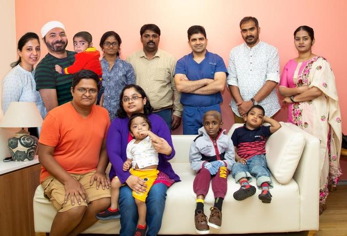 Narayana Health City, Rare Disease Day, Niemann-Pick, Baby Mehraj, Cytomegalovirus, Haematology, Sunil Bhat