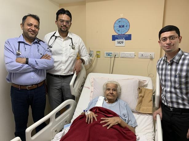 Wockhardt Hospital, TAVR, Ankur Phatarpekar, Mangesh Kohale, Brajesh Gupta, Haresh Mehta, Ankur Phaterpekar