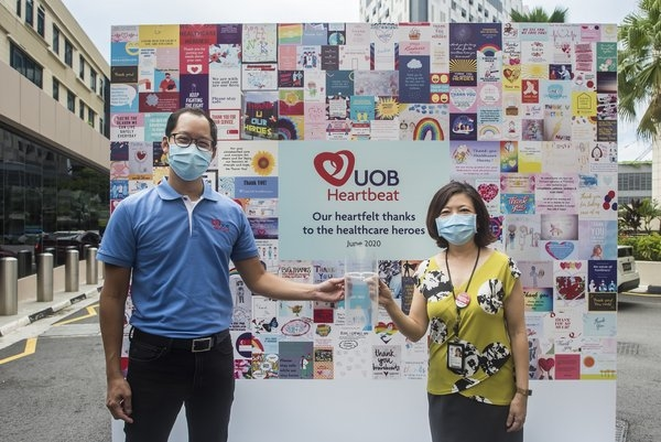 United Overseas Bank, Front-line workers, COVID-19, UOB Heartbeat COVID-19 Relief Fund, Singapore