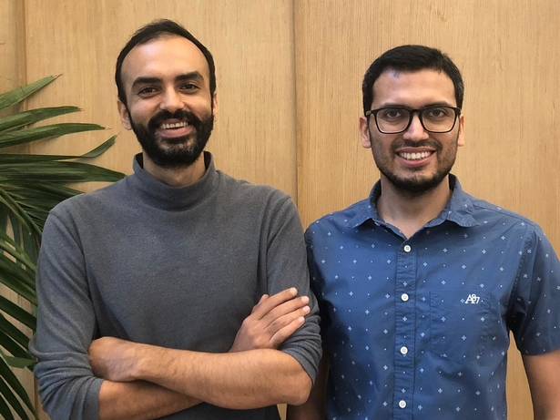 Left to right: Saurabh Arora, Co-founder and CTO, and Abhishek Poddar, Co-founder & CEO, Plum