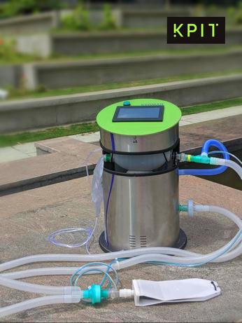 KPIT Technologies, Ventilator, Marico Innovation Foundation, Artificial Manual Breathing Unit, Ravi Pandit, NABL Approval, DRDO