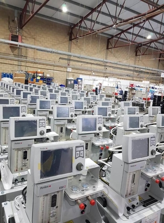 BPL Medical Technologies, Penlon Ltd, Ventilators, NHS, Sunil Khurana, Guru Krishnamoorthy