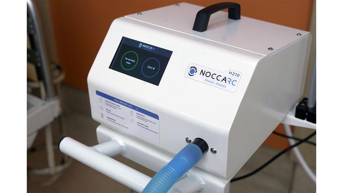 Noccarobotics, High-Flow Oxygen Therapy Device, Technology, Noccarc H210, COVID-19, HFNC machine