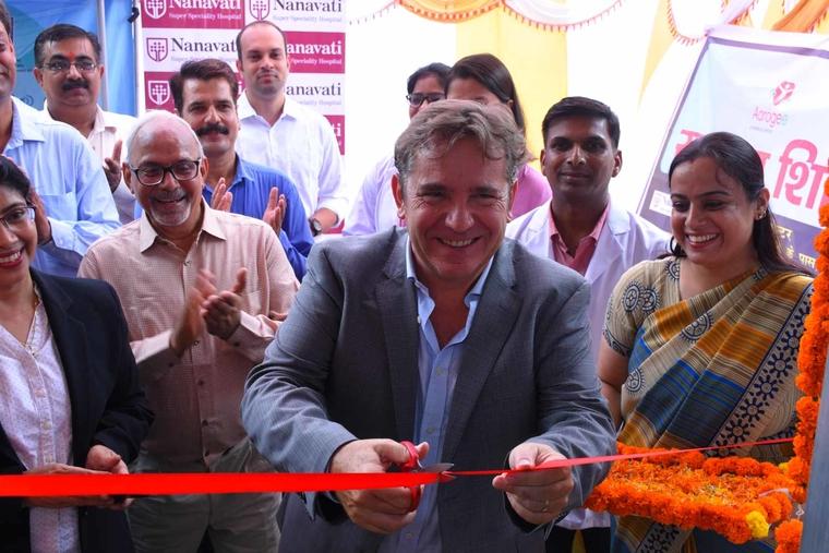 Legrand India inaugurates telemedicine health centre in association with Nanavati Hospital