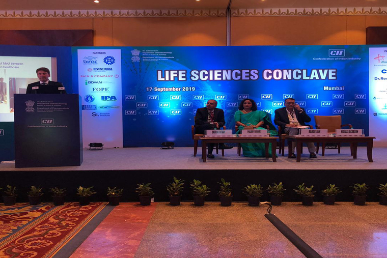 Swedish life sciences delegation participates in CII's Life Science Conclave