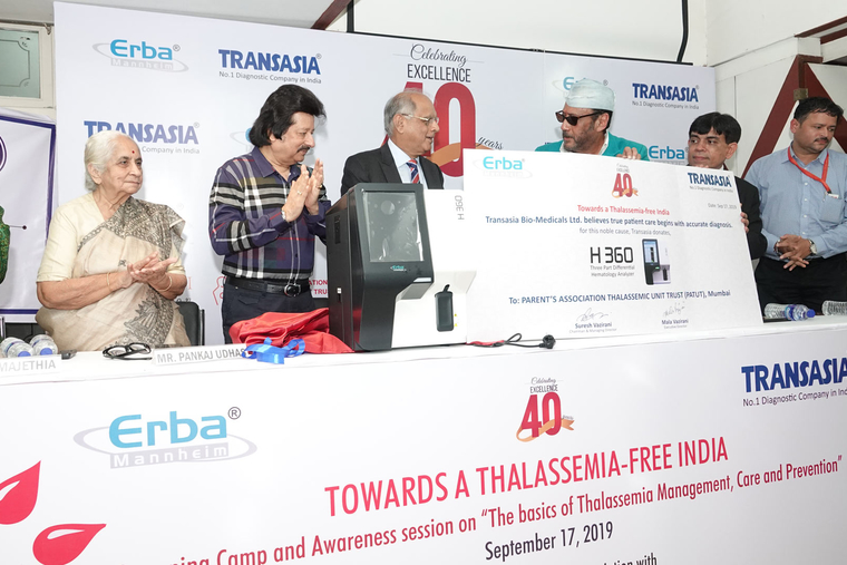 Transasia and PATUT unveil vision for 'Thalassemia-free India'