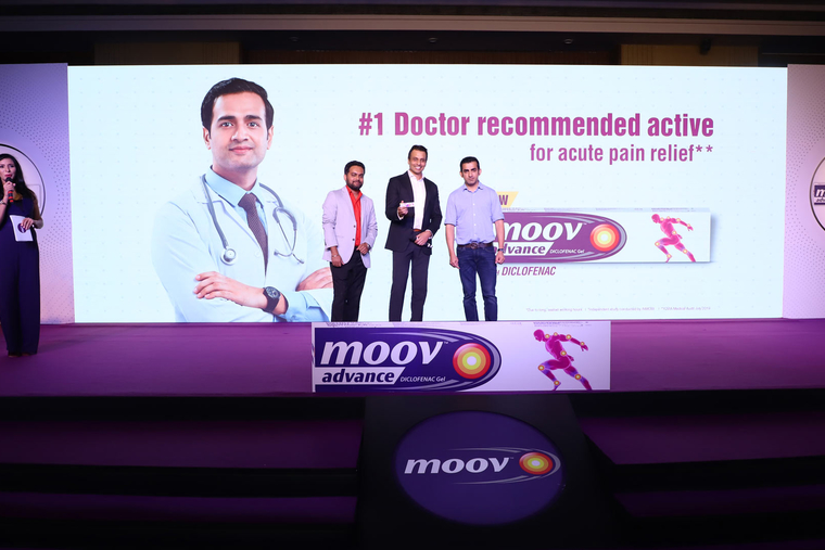 Moov joins 'Fit India Movement' to raise awareness on growing new age lifestyle pains