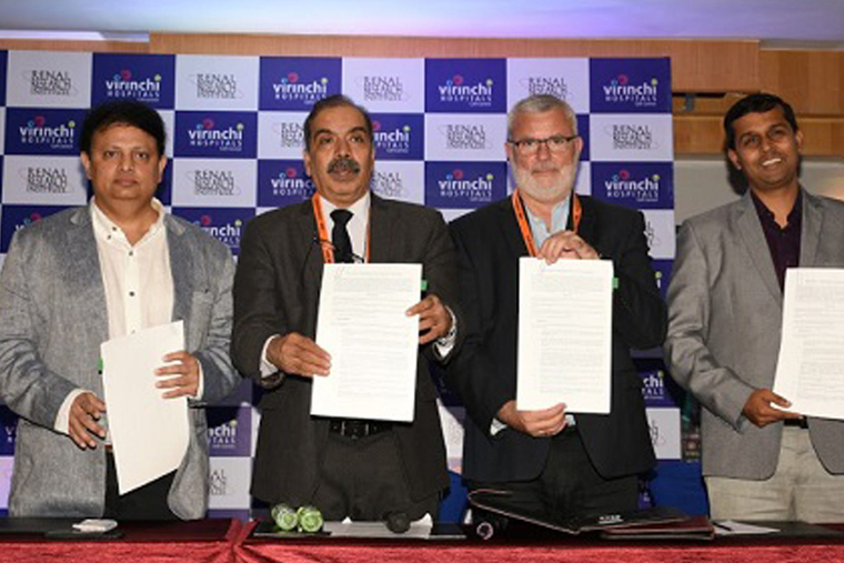 Virinchi Hospitals partners with Renal Research Institute, New York