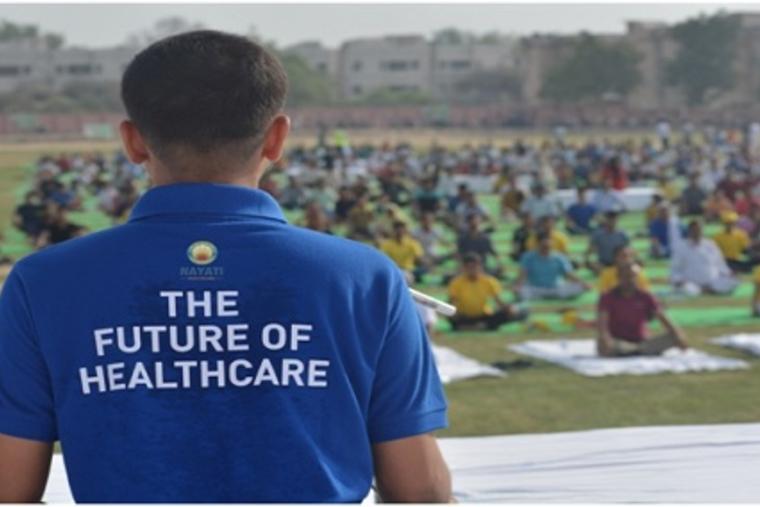 Yoga gains ground at Nayati Healthcare