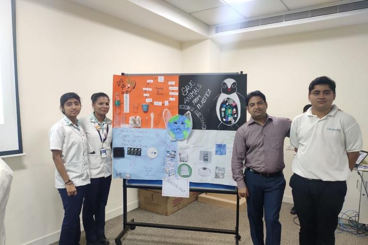 Columbia Asia referral Hospital Yeshwanthpur initiates massive campaign to become plastic free hospital
