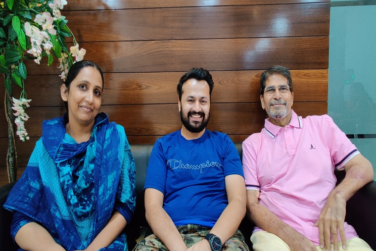 In a rare same blood group swap liver transplant, 5-year-old child and 67-year-old nri businessman get a new lease of life