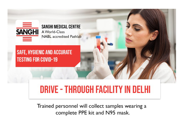NABL accredited Pathlab - Sanghi Medical Centre announces launch of RT-PCR testing for Covid-19