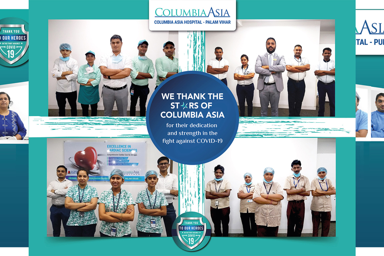 """Columbia Asia Hospital launches """"Gratitude Campaign"""" to applaud the extraordinary work by frontline workers during the pandemic"""