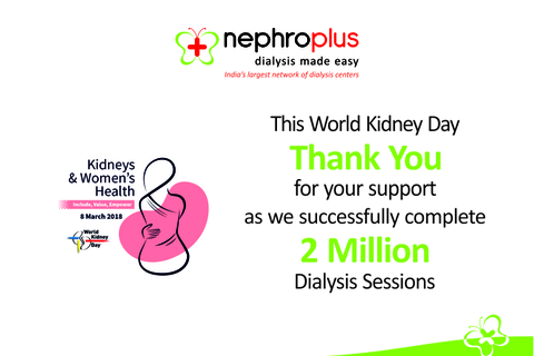 NephroPlus completes 2 Million Dialysis Sessions