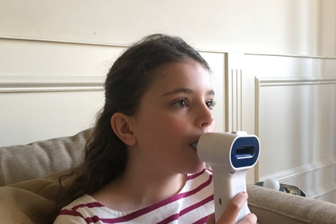 Personal capnometer for patients of asthma and COPD