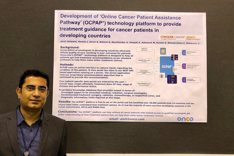 Onco.com gets global recognition from American Society of Clinical Oncology for Online Cancer Guidance Technology