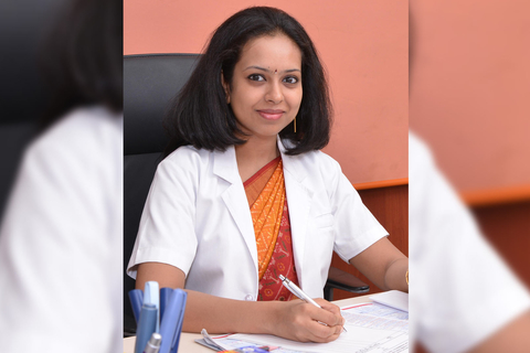 Dr RM Anjana receives the Shakunthala Amir Chand Prize for young scientist under 40