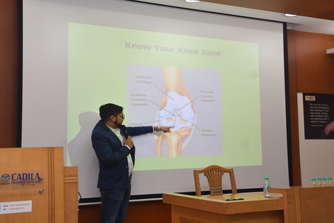 A session on kneecare