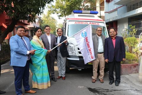 Merck launches mobile primary health and palliative care unit in kolkata