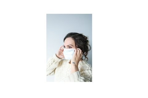 Safe disposal of used face masks