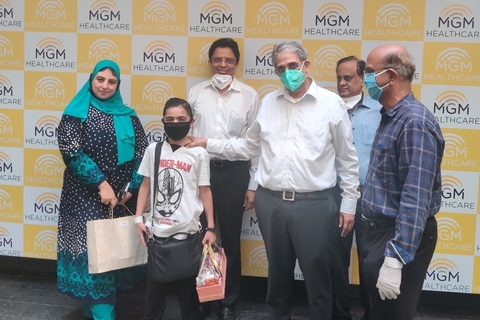 MGM uses VR to conduct a paediatric LVAD implant on an Egyptian boy